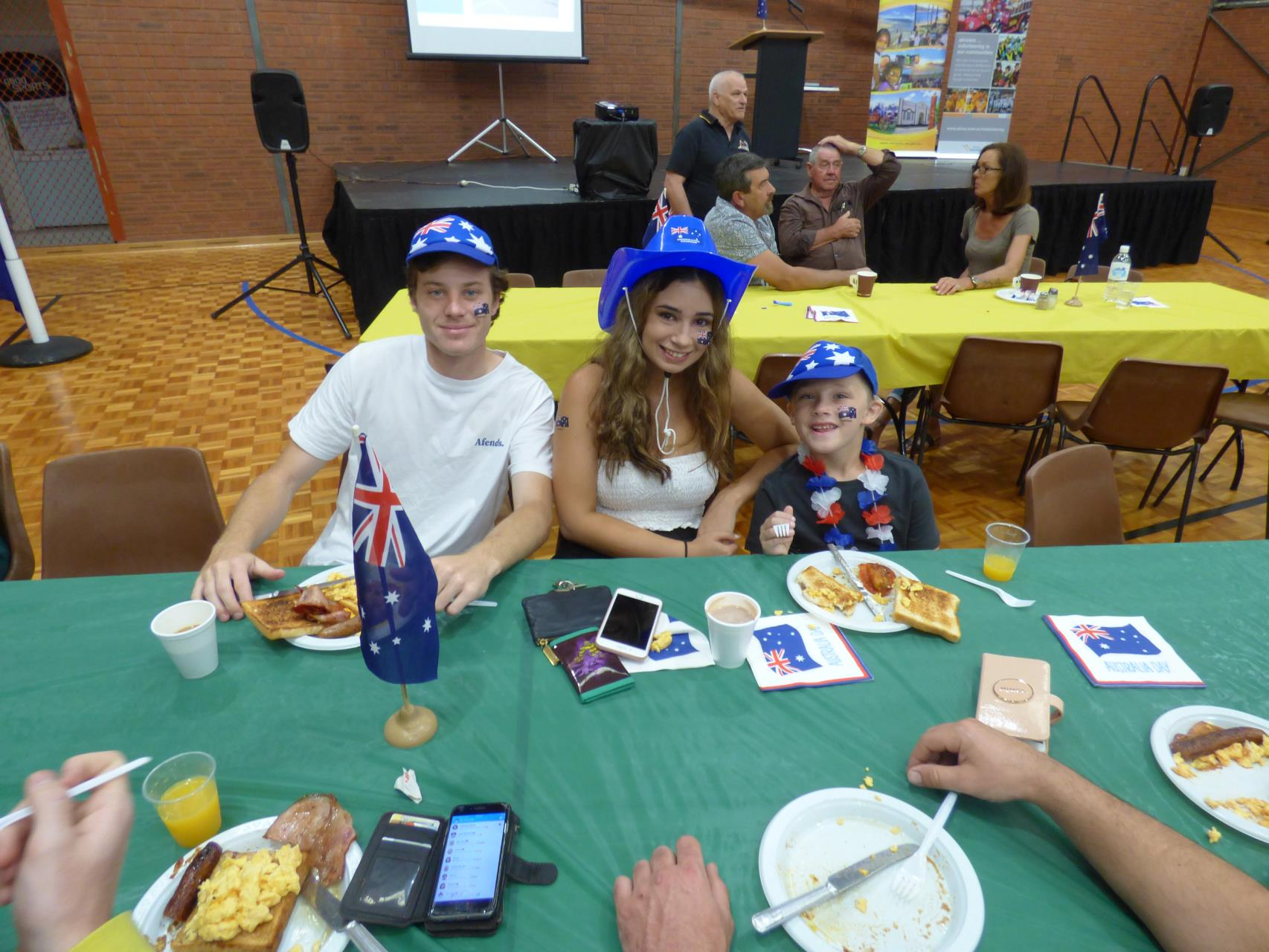 Lions breakfast was a hit with all ages