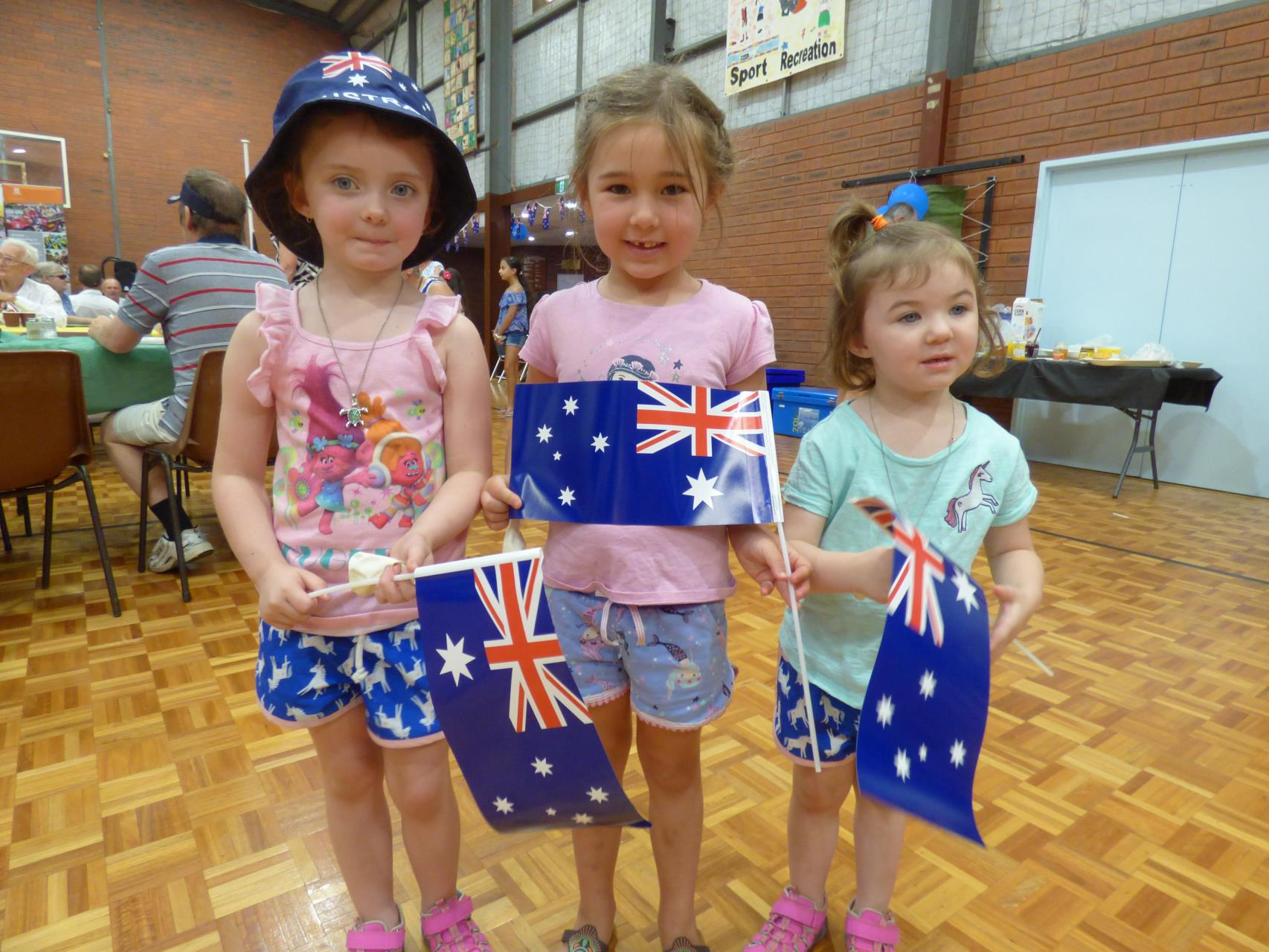 The Australia Day was alive with everyone
