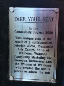 2000 Community Project - Take your seat