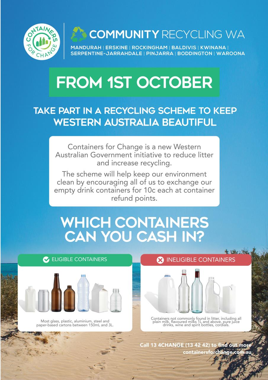 Community Recycling WA is Coming to Waroona
