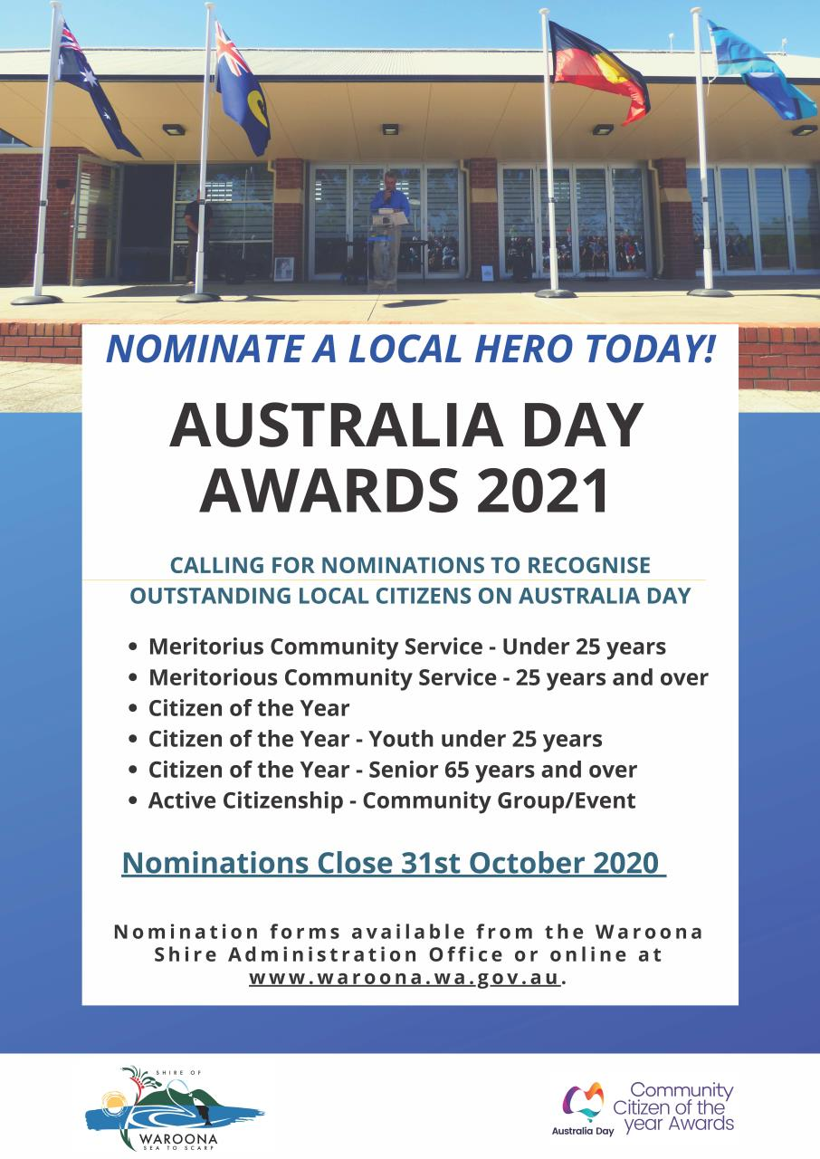 Nominate a local hero today!