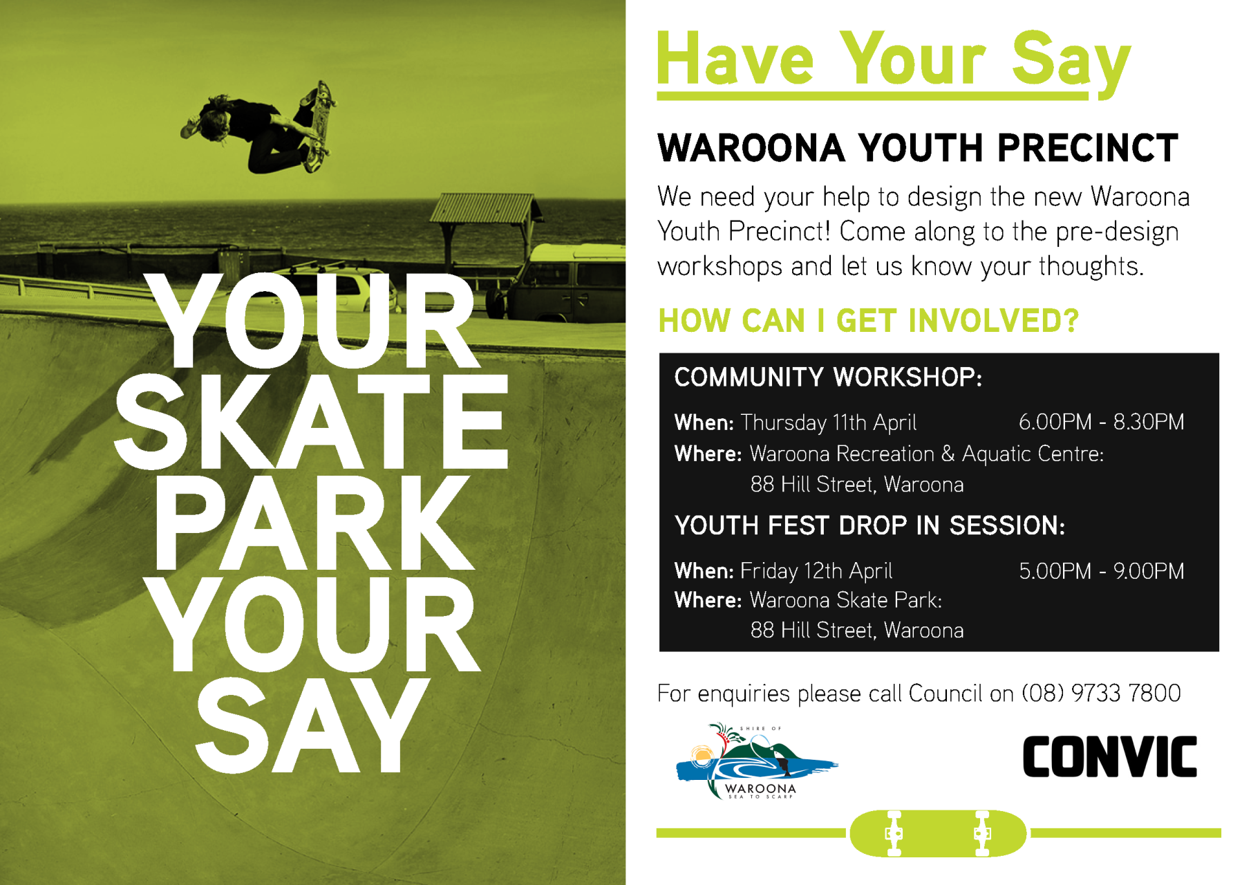 Have Your Say - Waroona Youth Precinct