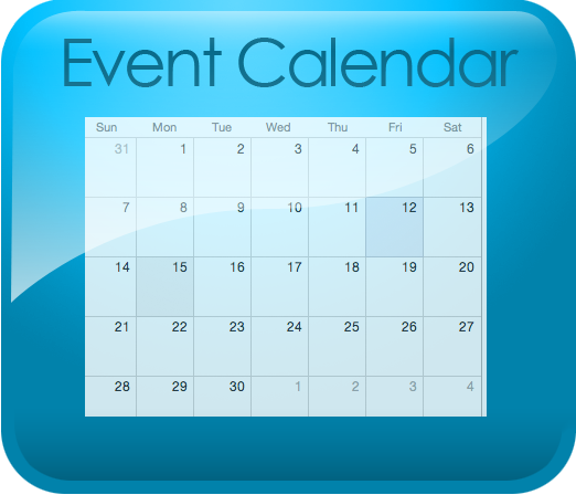 Event Calendar Icon : Shire of waroona home